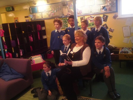 Marilyn visits St. Mary  & St. Michael Catholic Primary School