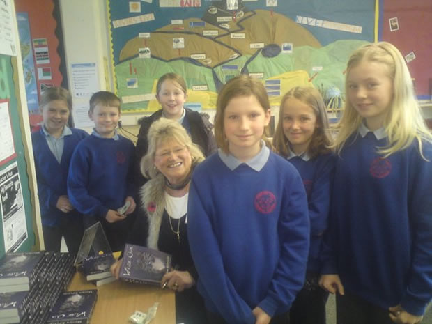 Marilyn visits Norbury Hall Primary School